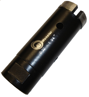Monster Dry Diamond Core Bit - 1-1/4""