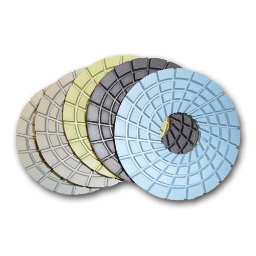 5 Step Con Shine Dry Diamond Concrete Polishing Pads