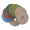 Shin-Plus Honeycomb Dry Diamond Polishing Pads 4 inch