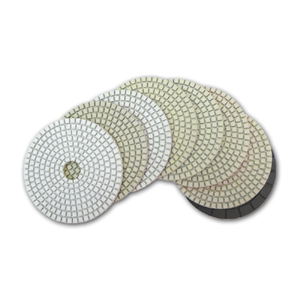 Super dry diamond pads