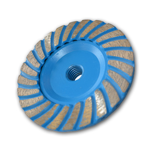 Premium double-wave diamond cup wheel