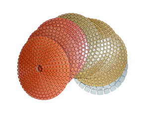 Metal Bond Diamond Polishing Pads 3""