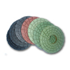 rigid diamond polishing pads