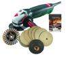 Concrete countertop polishing kit