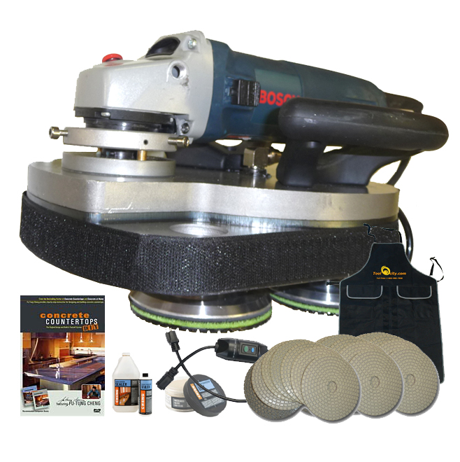 T Rex Planetary Polisher Package For Concrete Counter Tops