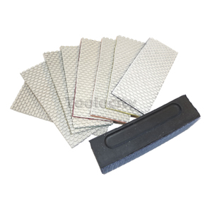 diamond hand polishing sheets