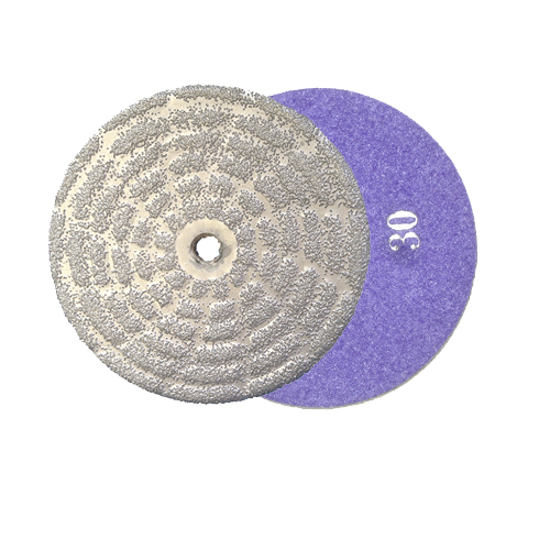 vacuum brazed diamond grinding disc