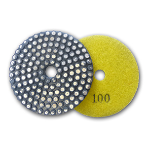 metal bond flexible diamond grinding pad 100 grit