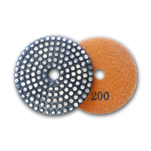 metal bond flexible diamond grinding pad 200 grit