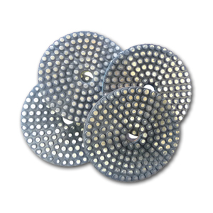 metal bond flexible diamond grinding pads set of 4