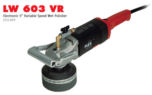 Flex LW603VR Wet Stone Polisher
