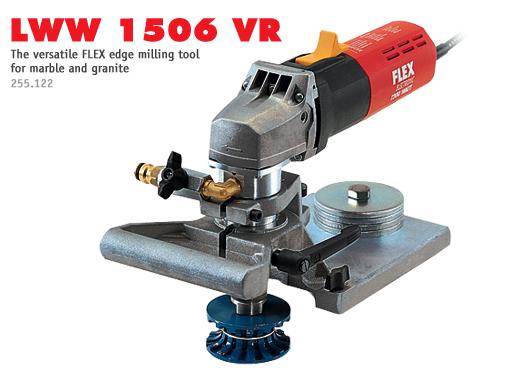 flex stone router granite edge milling machine lww 1506 vr. Black Bedroom Furniture Sets. Home Design Ideas