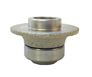 "brazed diamond router bit 3/16"" radius"