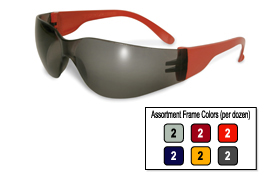 Pro Rider Safety Glass Assorted Color