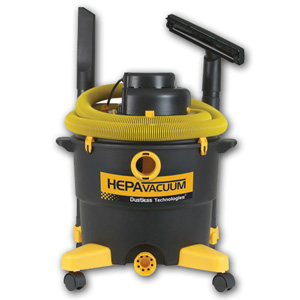 HEPA Vacuum from Dustless Technologies