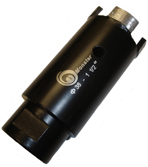 Monster Dry Diamond Core Bit - 1-1/2""