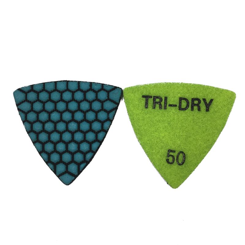 Triangle Diamond Polishing Pad For Fein 60 Grit