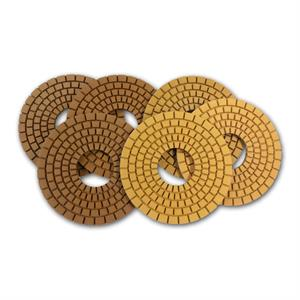 Con-Shine Concrete edge polishing pads