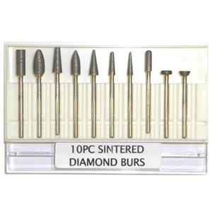 Toolocity SDBR011 Sintered Diamond Burs for Granite