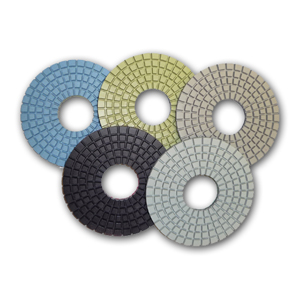 5-step con-shine diamond polishing pads for concrete