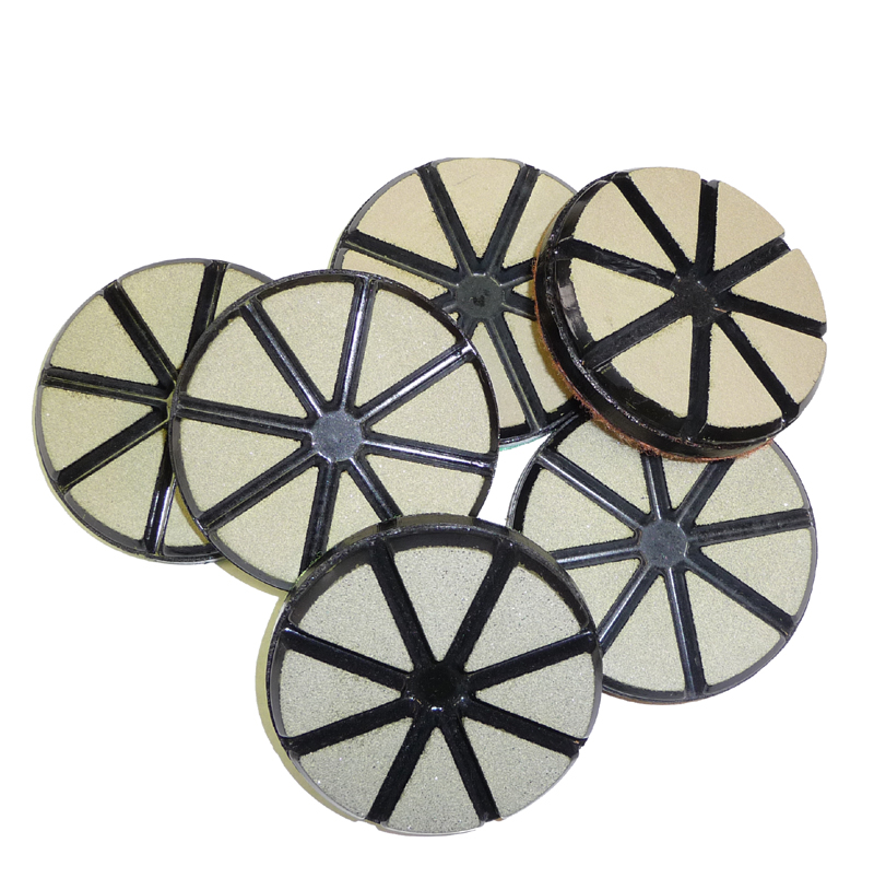 Toc Ceramic Bond Diamond Floor Polishing Pads For Concrete