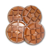 copper bond diamond floor polishing disc typhoon style
