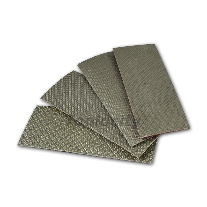 Electroplated Diamond Hand Polishing Sheets