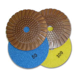 copper ring diamond polishing pads