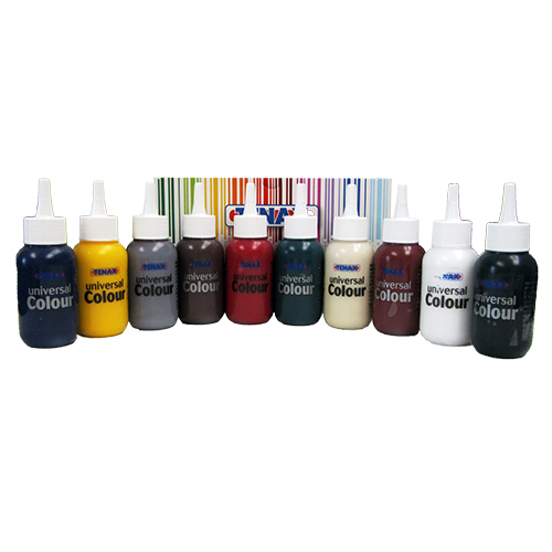 Tenax Universal Coloring Paste 10 bottle kit